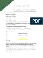 160 de 200 desarrollo comunitario Evaluación Nacional 2013