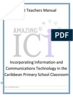 draft teachers manual incorporating ict in the caribbean primary school classroom