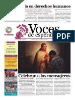 Voces de Esperanza 08 diciembre de 2013