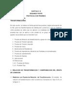 Manual de Prueba Transformadores
