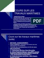 2ie_cours Sur Les Travaux Maritimes_novembre2013