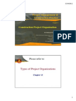 Construction Project Organization