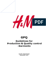 Guideline for Production and Quality Control