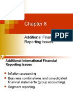 Additional Financial Reporting Issues