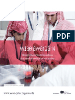 2014 WISE Awards Brochure