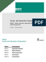 1.Curso de Inducción Corporativo Parte I Presentación