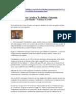 La Iglesia Catolica ,La Biblia y Einstein - Victor Claudin