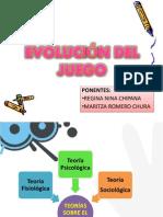 EVOLUCION DEL JUEGO Angela, Carlos y Regia