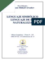 Lenguaje Simbolico, Lenguaje de La Naturaleza 8 2-5