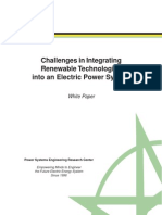Pserc Grid Integration White Paper April 2010