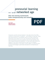 Entrepreneurial Learning in Networked Age