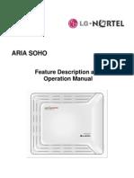 Program Manual aria soho
