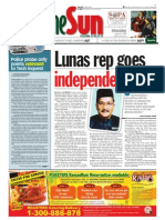 thesun 2009-08-24 page01 lunas rep goes independent