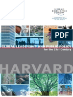 Global Leadership and Public Policy for the 21st Century