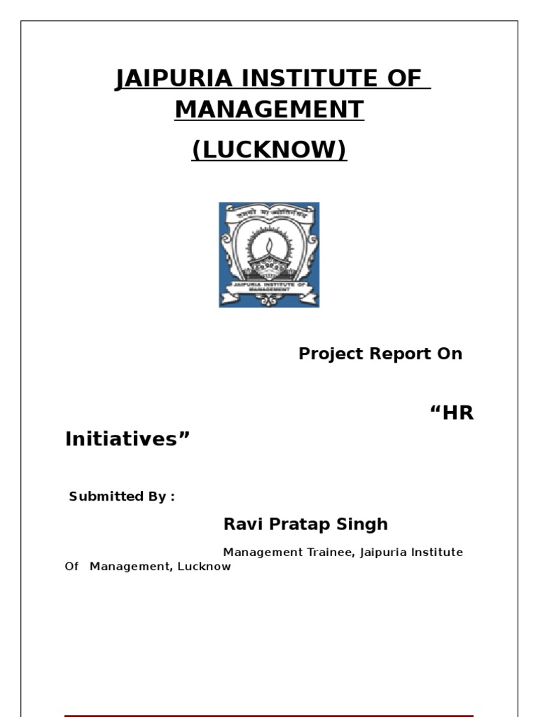 hr project retail