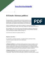 El Estado Sistemas Politicos - Biblioteca Congreso de Chile
