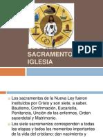 Los Siete Sacramentos de La Iglesia