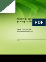 Binomial Options Pricing Model