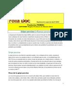 Gripe porcina (influenza porcina)