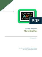marketing plan final  cb fall 2013