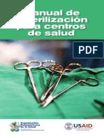Manual Esterilizacion