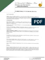 R.D. 151-2009-DG-EPG-UNA. PARA EL ARTÍCULO DE INVESTIGACIÓN