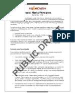 Hill & Knowlton's Social Media Principles - Public Draft (Document)