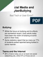 social media and bullying