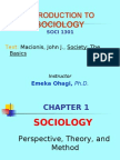 Anthropologi and Sociology Assigment