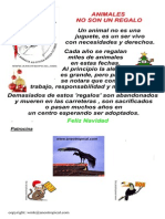 Animales no son un Regalo