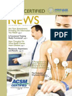 ACSM News July-September 2010