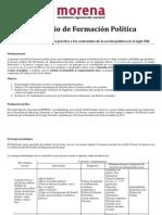 DIPLOMADO DE FORMACIÓN POLÍTICA