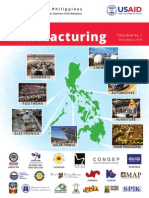 Manufacturing policy brief