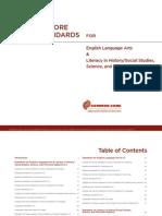 ICommon Core Standards SI ELA Standards