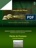 Planta de Procesos Orcopampa