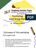 Facilitating Small Group Work