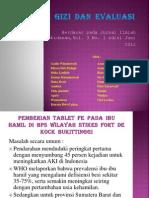 Program Gizi Dan Evaluasi Ppt