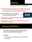 We- bNotes - 2013 IndRev - Social-Economic Ideologies