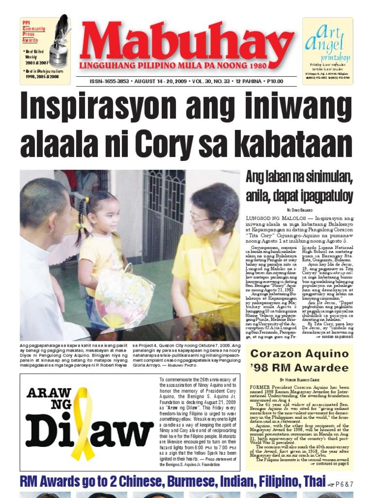 panayam Kay dating Corazon Aquino