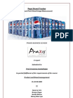 Brand Image Measurement Pepsi