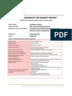 Panay Island Rapid Market Assessment Report, World Vision, Nov 29, 2013