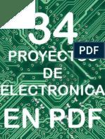 CEKIT 34 Proyectos de Electronica