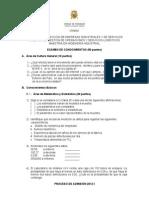 Modelo Examen Admision 2012 i (1)