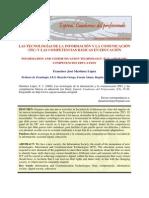 20.Las Tecnologas de La Informacin y La Comunicacin TIC y Las Competencias Bsicas en Educa