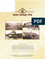 Stone Cottage Menu