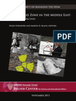 A WMD-Free Zone in the Middle East