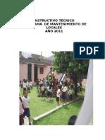 Instructivo_tecnico_de Mantenimiento 2011 Final[1]