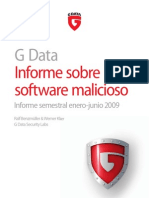 G DATA MalwareReport Otoño 2009
