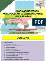 Pengembangan Agropolitan di Jawa Tengah