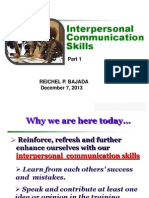 10K InterpersonalCommunication Part 1